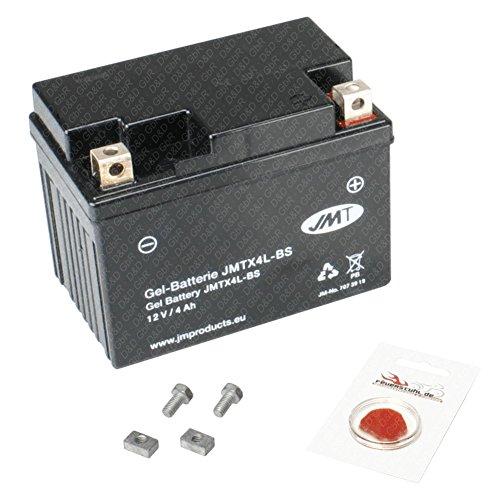 Gel-Batterie für SYM Fiddle 50, 2003-2007 (Typ FA05U), wartungsfrei, inkl. Pfand €7,50