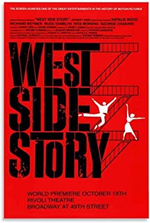 West Side Story Poster Canvas Art Poster en Muur Art Picture Print Moderne Familie slaapkamer Decor Posters 08x12inch (20x...