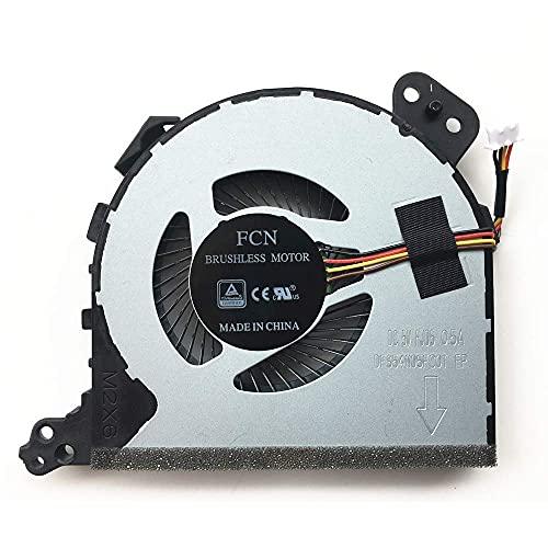 Ellenbogenorthese-LQ Nuevo Ventilador de refrigeración de la CPU del Ordenador portátil para Lenovo ideapad 320-14IAP 320-14ISK 320-141BK 520-15AST 520-15IAP 520-15ISK 520-15ISK (Color : Defau