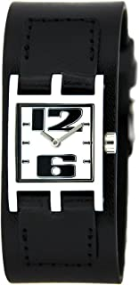 Bruno Banani Women's Watch Leather Strap Black BR21065