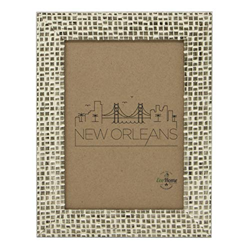 5x7 Picture Frames Distressed Gold - Mount Desktop Display, Frames by EcoHome