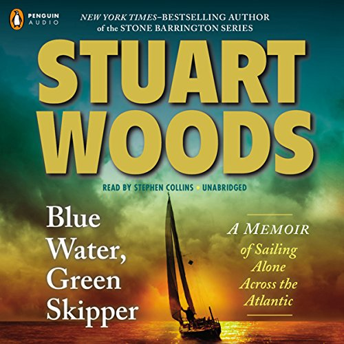 Blue Water, Green Skipper audiobook cover art