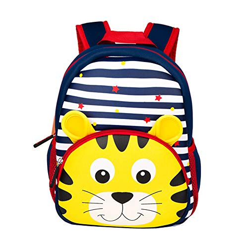 Yeelan Waterproof Toddler Backpack Nursery Stripe Kid Bag for Preschool Kindergarten School Travel etc