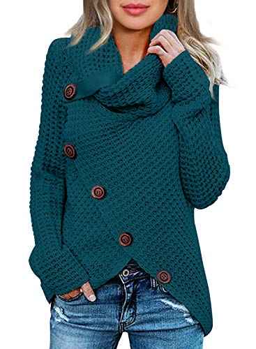 Chunky Pullover Sweater for Womens