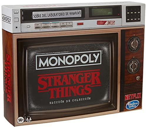 Hasbro- Stranger Things: Monopoly Edición de coleccionista (20003175378)