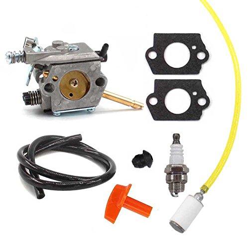 Aisen carburateur avec tuyau de carburant Bougie d'allumage pour Stihl h24d FS48fs52FS66fs81FS106FS108FR106FR108Walbro WT 45–1WT 45/41261200600
