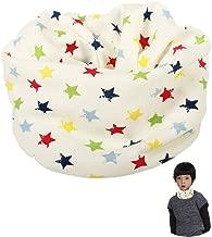 bufanda del cuello del bebé del algodón de la bufanda 1pc de los niños del collar para el otoño y el invierno (estrella)