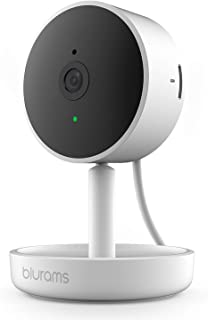 blurams Home Pro, Security Camera 1080p FHD | w/ Facial Recognition, 2-Way Talk, Siren, Human/Sound Detection, Smart Alerts, Privacy and Night Vision Wi-Fi Cam | Cloud/Local Storage, Works with Alexa