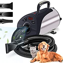 Newest Dog Dryer Professional Grooming Dog Hair Dryers For Dogs With Led Screen