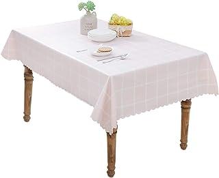 FEOYA - Mantel de Mesa Rectangular Antimanchas Estilo Simple a Prueba de Agua Durable Lavable Decoración de Cocina Salón M...