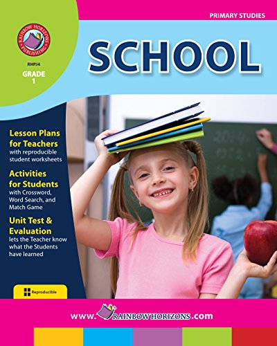 School: Recess, Backpacks, and Other Stuff Gr. 1 (English Edition)