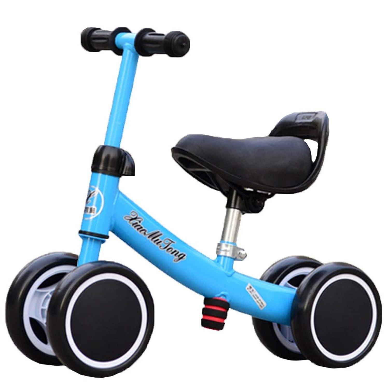 バランスバイク ベイビーバランスバイク - 1、2、3歳のベイビーバイク、ファーストバイクや誕生日プレゼントとして最適(ブルー)