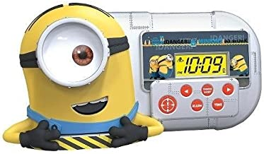 Despicable Me Minion Alarm Clock/Sleep Timer with Night Light