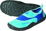 Aqua Sphere Chaussures de Plage pour Fille en néoprène, Enfant, Beachwalker, Blue/Light Blue