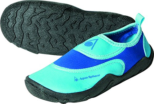 Aqua Sphere Kinder Beachwalker Neopren Wasser/Strand Schuh 24 Blau/Hellblau