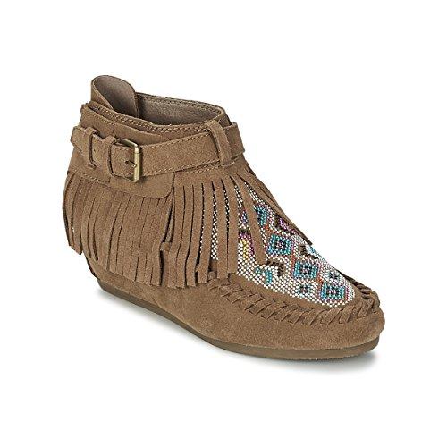 ASH Serpico Botines/Low Boots Mujeres Marrón Botas de caña Baja