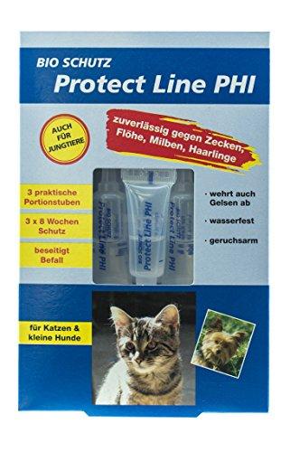 BIO SCHUTZ Protect Line PHI für Katzen und kleine Hunde (6 ml (3 Tuben á 2 ml)