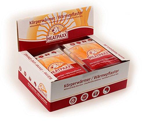 HeatPaxx Körperwärmer | 40 Wärmepflaster | EXTRA WARM | Dünnes und leichtes Wärmepflaster für Bauch und Rücken | punktgenaue Wohlfühlwärme | Bodywärmer – Rückenwärmer