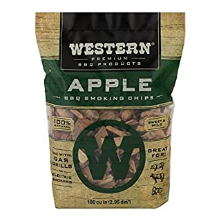 WESTERN 28065 Apple Flavored Smoking Chips, 180 cu in (Pack of 1) (B0001P4PSC) | Amazon price tracker / tracking, Amazon price history charts, Amazon price watches, Amazon price drop alerts