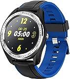 Smartwatch, Sportuhr, weiblich, Menstruationszyklus, multifunktional, Informationen, Anruferinnerung, Armband, IP68, wasserdicht, Blau