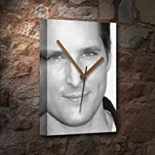 PETER FACINELLI - Canvas Clock (A5 - Signed by the Artist) #js001