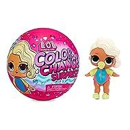 L.O.L. Surprise! Colour Change Surprise Dolls. Adorable Doll with 7 Surprises, Fun Colour Change Eff...