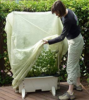 Frost Protek Tall Cover - 6' Tall - Drawstring Close - Garden Fabric for Protection and Insulation by Frost Protek