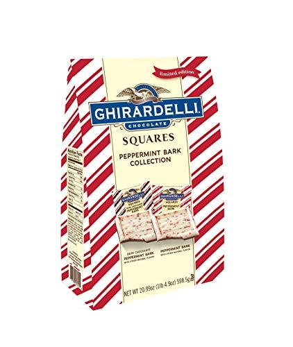 Ghirardelli Limited Edition Peppermint Bark XXL Bag, Milk Chocolate, 20.99 Ounce