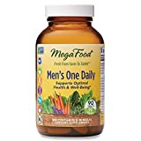 MegaFood, Men's One Daily, Daily Multivitamin and Mineral Dietary Supplement with Vitamins B, D and Zinc, Non-GMO, Vegetarian, 90 Tablets (90 Servings) (FFP)