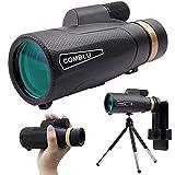 Telescopio Monoculare, 18 X 62mm HD BAK4 Monocolo Professionale...