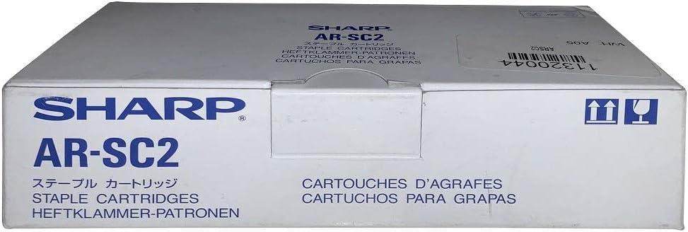 Sharp Staples, AR-SC2, 3PK, 5,000 staples [Non - Retail Packaged]