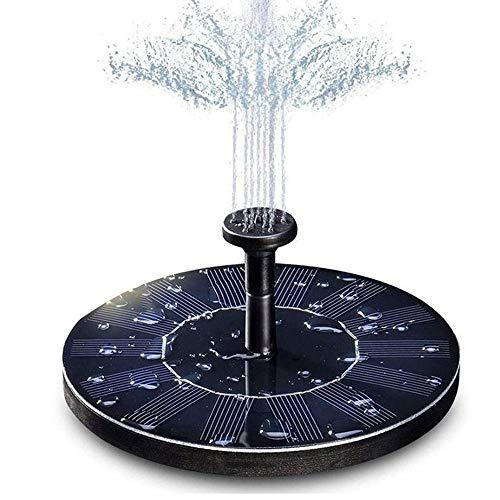 YiHao Solarbrunnen-Pumpe, Garten-Dekoration Wasser Schwimmende Solarbrunnen Board Bausatz Schwimmbecken Wasser-Pumpen-Garten Solar Sprinkler