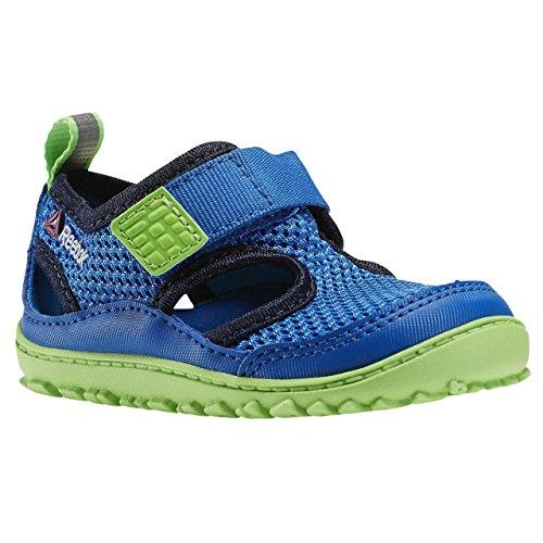 Reebok Jungen Unisex Kinder Ventureflex Sandal III Lauflernschuhe, Blau, Grün, Schwarz, Weiß (Blue Sport/Faux Indigo/Solar Green/White), 22 EU