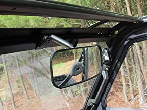 roll cage mounted rear view mirror