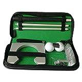 IOIOA Accesorios de Golf, Campo de la Mano Derecha de Formación Putter Set de Accesorios del Golf Práctica de Golf Bolsa Kit - Golf Accesorios para Regalo del Golfista Hombres Mujeres