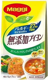 ネスレ日本 マギー アレルギー特定原材料等27品目不使用 無添加ブイヨン 4g×7本×10個入