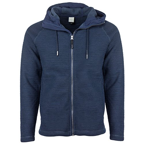 Bench Herren Strickjacke FORECOURT, Gr. XX-Large, Schwarz (Black BK014)