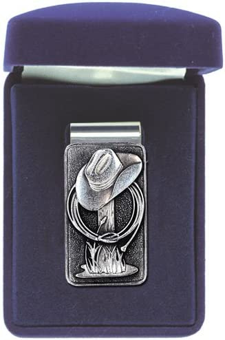 Heritage Pewter Cowboy Hat Money Clip