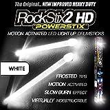 ULTRA BRIGHT WHITE - LED LIGHT UP DRUM STICKS - ROCKSTIX FIRESTIX