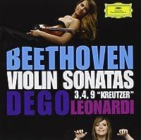 Violin Sonatas 3/4/9 by Dego/Leonardi Beethoven (2014-03-05)