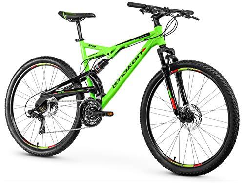 Anakon SK8, Bicicletta Uomo, Verde, L