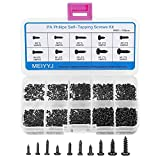 MEIYYJ 10 Kinds Small Multi-Purpose M1 M1.2 M1.4 M1.7 Phillips Head Micro Screws Self-Tapping Electronic Screws Assortment Kit Pack of 1000