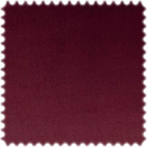 Hochwertiger Samt Möbelstoff MOHAIR LOOK Weinrot mit Fleckschutz