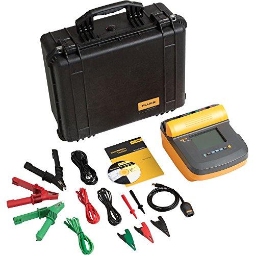Fluke 1555/KIT Insulation Resistance Tester Kit, 2 Teraohms Resistance , 10kV Voltage