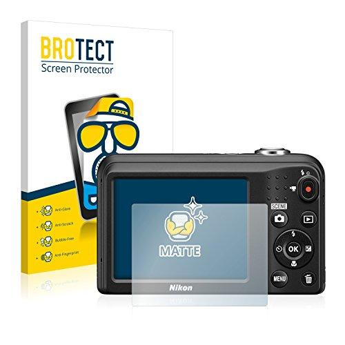 brotect Pellicola Protettiva Opaca Compatibile con Nikon Coolpix A10 Pellicola Protettiva Anti-Riflesso (2 Pezzi)