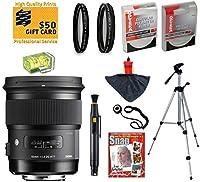 Sigma 50mm F1.4 DG HSM ARTレンズ UV、CPL、FLD、ND4、+10マクロフィルター付き Canon EOS 70D、60D、60Da、50D、7D、6D、5D、5DS、Rebel T6s、T6i、T5i、T5、T4i、T3i、T2iおよびSL1デジタル一眼レフカメラ用