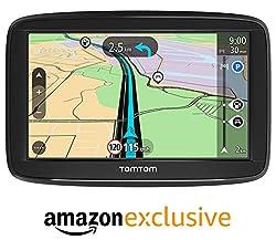 TomTom Navigationsgerät Start 52 Lite (5 Zoll, Karten Europa, Amazon Exklusiv, Fahrspurassistent)