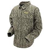 Frogg Toggs Pilot Jac Shirt, Water-Resistant Work Shirt, X-Large, Mossy Oak Bottomland