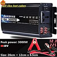 Inverter 12v/24v To AC 220v 50HZ 1500w 1600w 2200w 3000w Voltage transformer Power Converter Solar For Car Inverter Househol