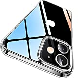 CASEKOO iPhone12 mini 用 ケース 5.4 インチ クリア 米軍MIL規格 耐衝撃 高透明 SGS認証 カバ……